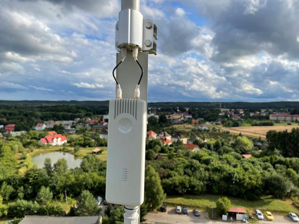 Jakość i temperatura powietrza w Polanowie